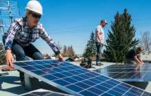 Short-lived solar panels can be economically viable