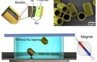 Tiny robotic vessels powered by acoustic waves maneuver through cellular landscapes