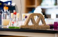 A green living material that demonstrates similar strength to cement-based mortar
