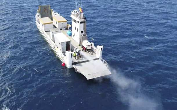 Initiating a world-first cloud brightening technique to protect corals