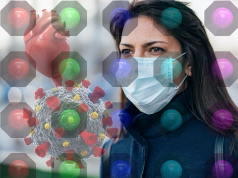 Using AI and biomarkers to determine COVID-19 disease severity