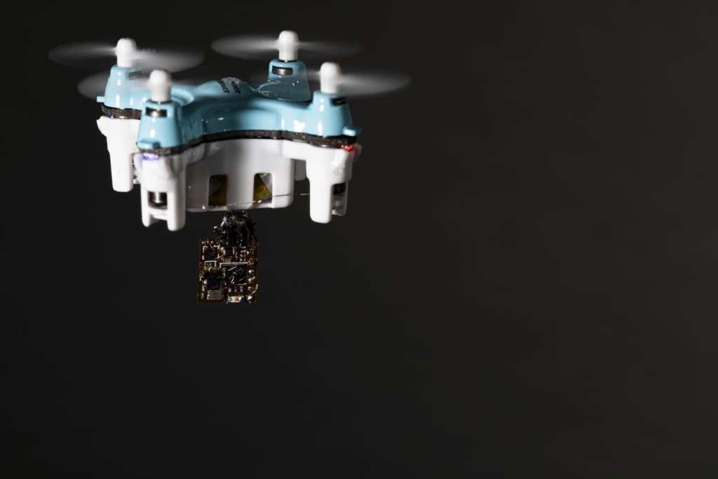 Sensors can be released from tiny drones or insects such as moths to traverse difficult spaces