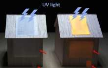 Lighting up homes with luminescent wood