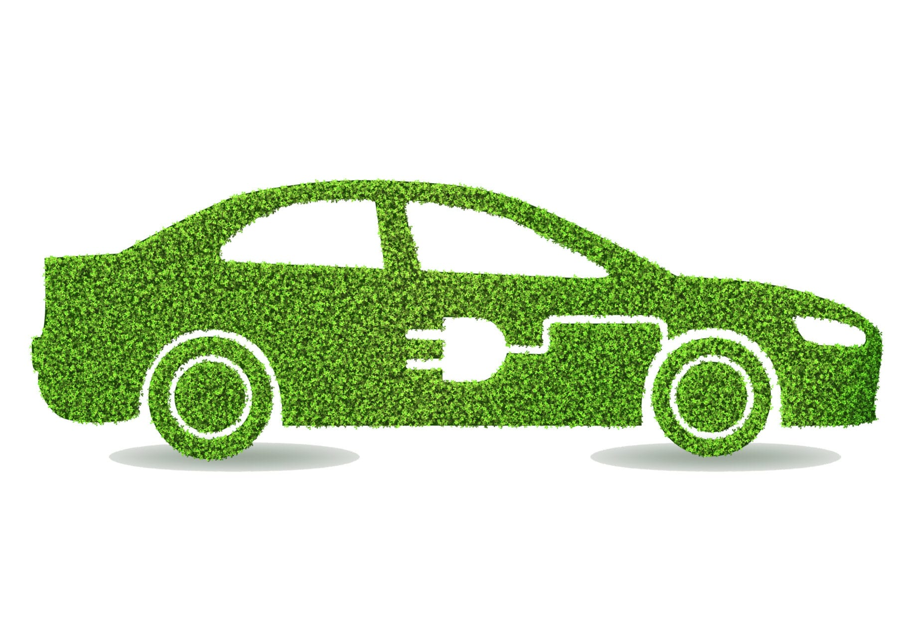 Green environmentally friendly vehicle concept - 3d rendering via Imperial College London