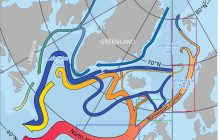 Is the the major Atlantic ocean current, including the Gulf Stream, approaching a critical threshold?