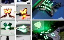 New paper-like QLEDs that can be folded into various complex 3D structures have been successfully fabricated