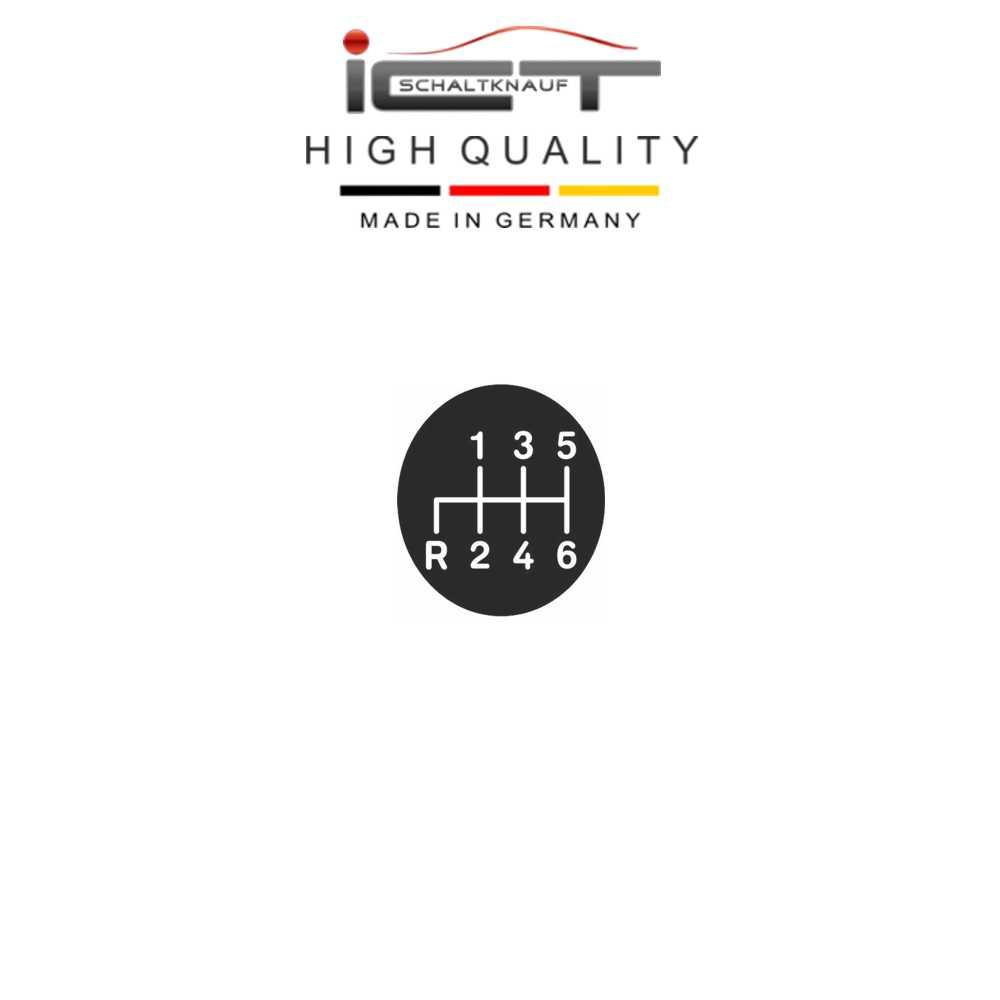 100% Cuero ICT Pomo de cambio marco Mercedes CLK W208 C208