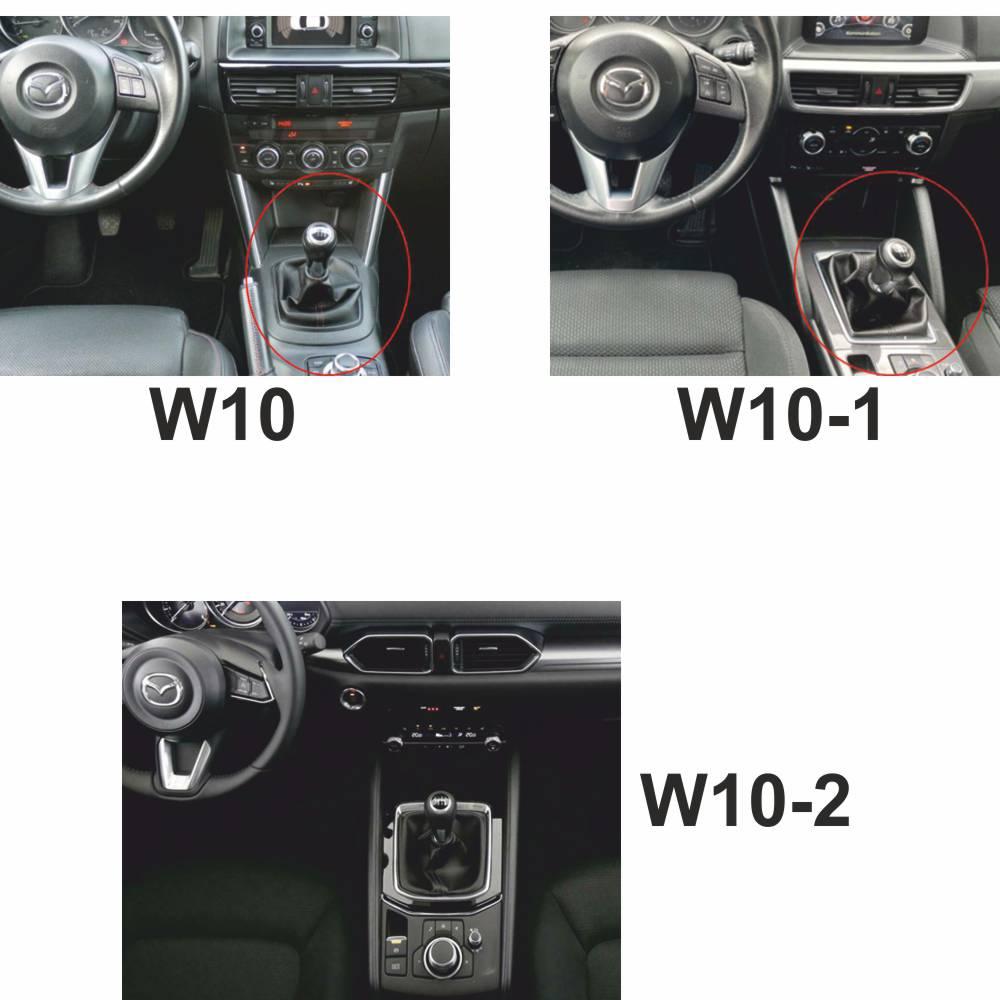 100% Cuero ICT pomo de cambio funda palanca Mazda CX 5
