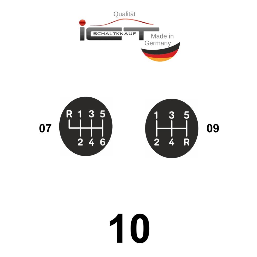 Original ICT shift gear knob boot leather Porsche 911 Typ