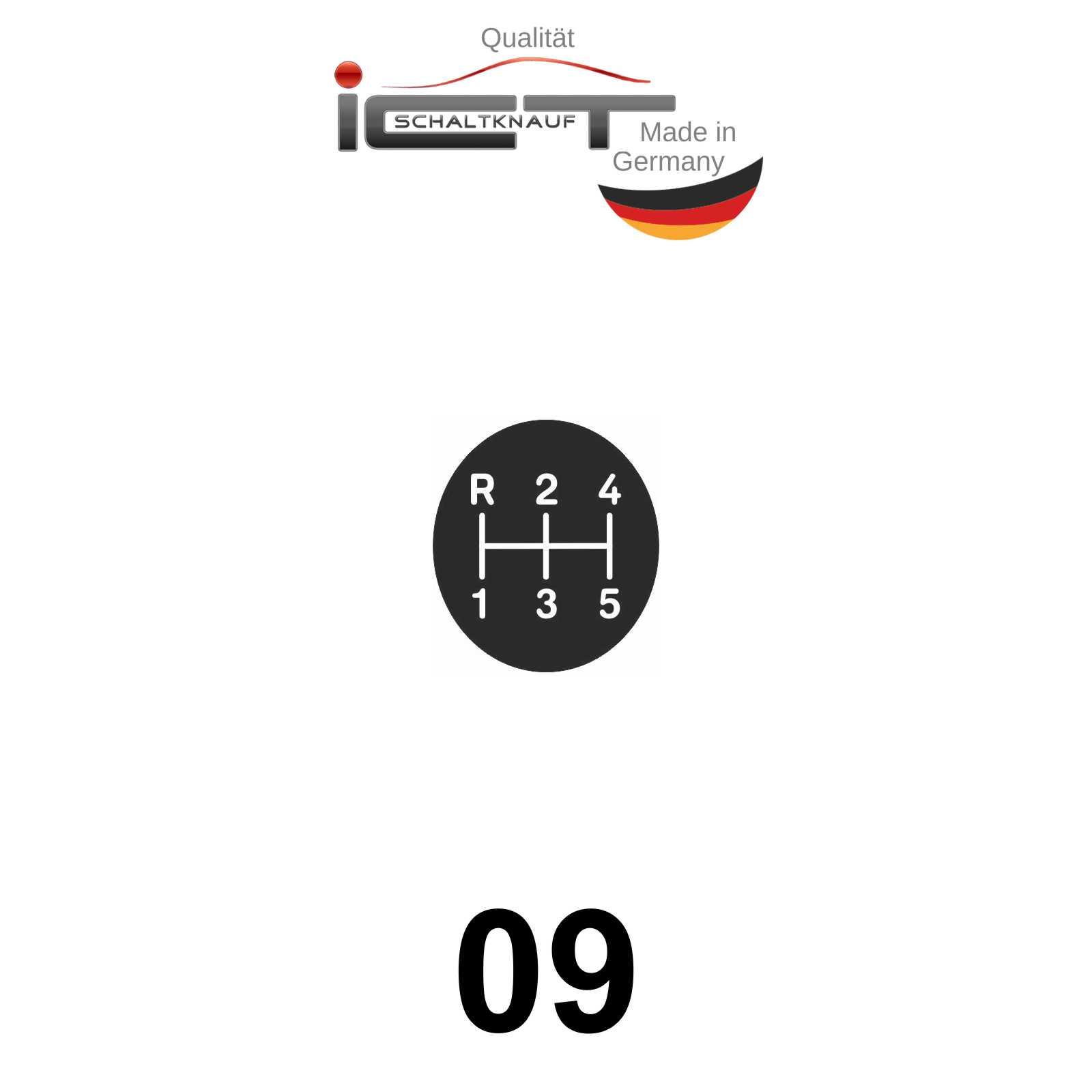 Original ICT shift gear knob gaiter leather Porsche 928
