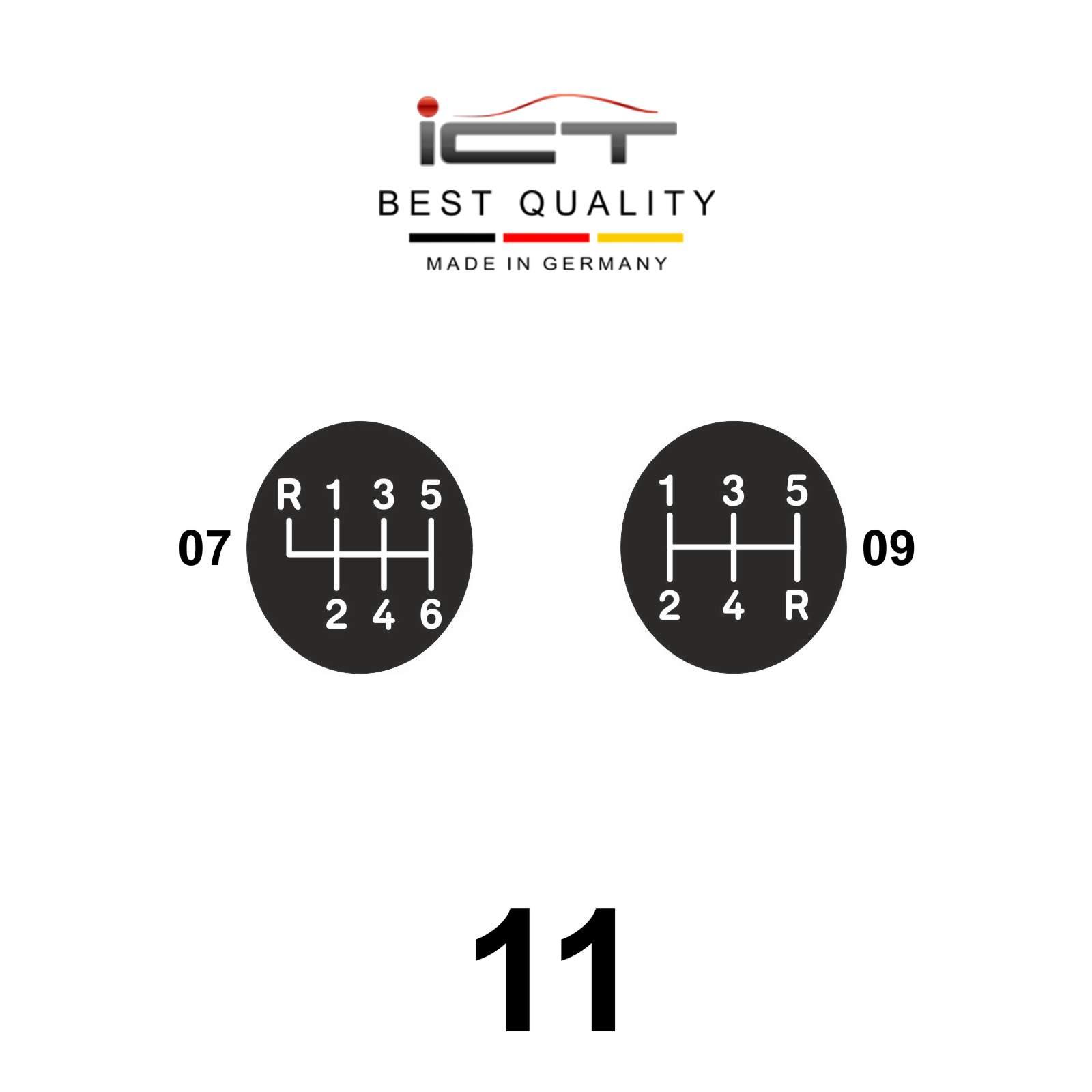 ICT shift gear knob gaiter boot leather Porsche 911 Typ