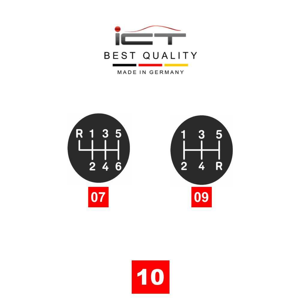 ICT shift knob boot 100% leather Audi A4 B5 Typ 8D