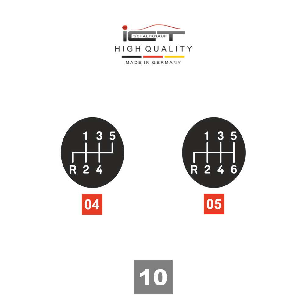 ICT LED gear shift knob gaiter leather Mercedes ML M Class