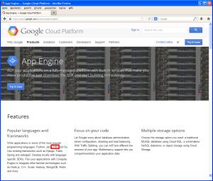 PHP-Unterstützung in der Google App Engine