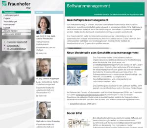 Fraunhofer-Studie BPM 2014