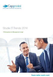 IT-Trends 2014 by Capgemini