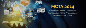 MCTA 2014: Mobile Commerce - Technologien, Märkte, Anwendungen
