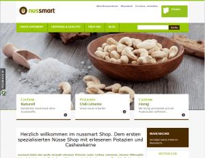 Nussmart.de - Hochwertige Nüsse im Internet bestellen