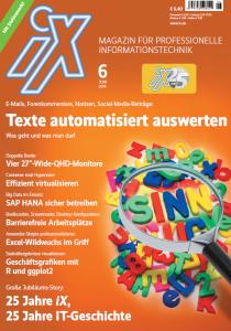 25 Jahre iX - Magazin für professionelle Informationstechnik