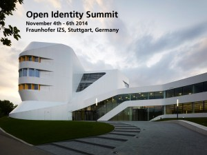 Open Identity Summit 2014 bei Fraunhofer in Stuttgart