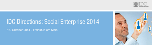 IDC Social Enterprise 2014