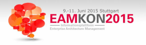 EAMKON 2015 - Informationsplattform Enterprise Architecture Management im Juni 2015 in Stuttgart