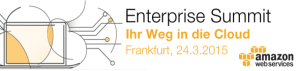 AWS Enterprise Summit 2015 in Frankfurt