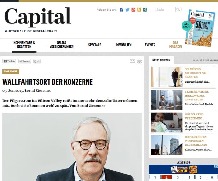 Interessanter Artikel in Capital: Wallfahrtsort der Konzerne