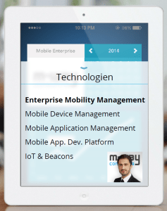 Enterprise Mobility Management: Gastvortrag von M-Way Consulting
