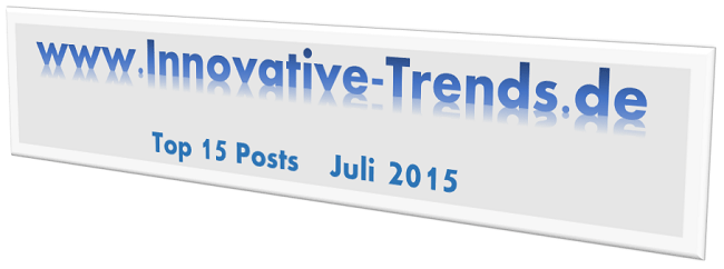 Top 15 Posts im Juli 2015