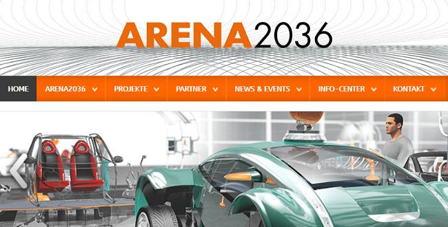ARENA2036: Forschungsfabrik zum Automobilbau der Zukunft