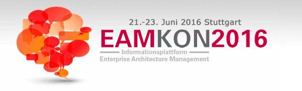 EAMKON 2016 in Stuttgart - Informationsplattform Enterprise Architecture Management