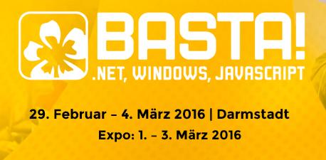 BASTA! 2016 vom 29. Februar bis 4. März 2016 in Darmstadt