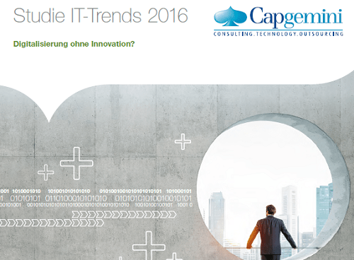 It Trends 2016 Aktuelle Studie Von Capgemini Innovative Trends