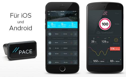 PACE App für Android und iOS