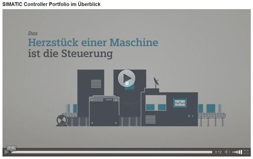 Einführungsvideo zum SIMATIC Controller Portfolio