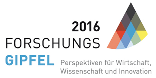 Forschungsgipfel 2016 - Fokus: Digitalisierung am 12. April 2016 in Berlin