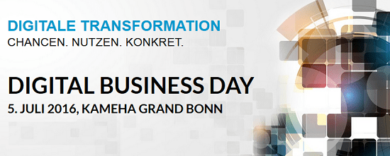 Digital Business Day 2016 in Bonn