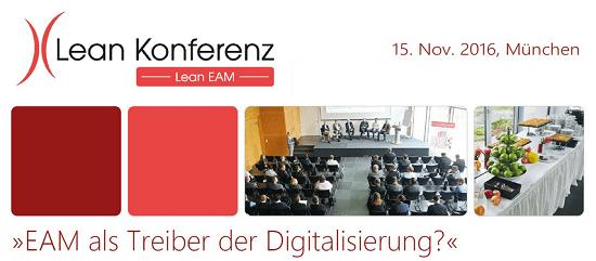 Lean EAM Konferenz 2016 in München