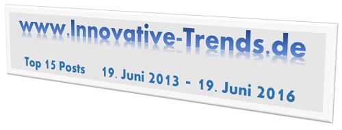 Innovative Trends wird 3 Jahre alt
