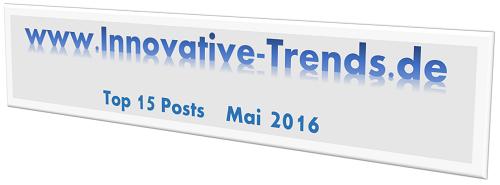 Top 15 Posts im Mai 2016