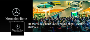 60. Mercedes-Benz Social Media Night