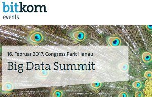 BITKOM Big Data Summit 2017