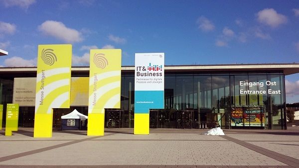 IT & Business 2016 - Eingangsbereich