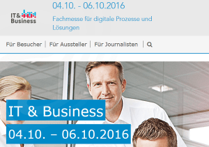 IT & Business 2016 in Stuttgart