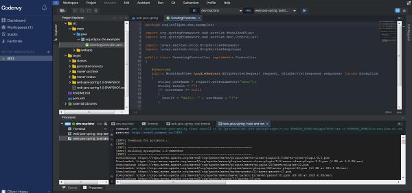 Codenvy Cloud IDE