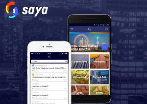Saya - Lokale Information und Kommunikation