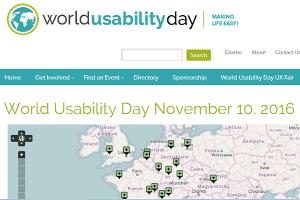 World Usability Day 2016
