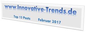 Top 15 Posts im Februar 2017