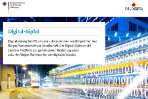 1. Digital-Gipfel 2017 in Ludwigshafen